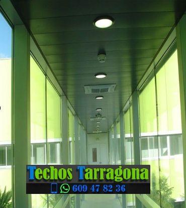 Presupuestos de techos de aluminio en Tarragona Catalunya