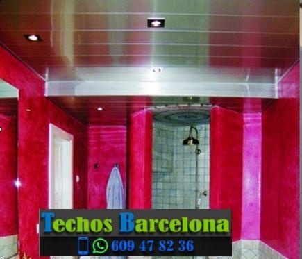 Presupuestos de techos de aluminio en Terrassa Barcelona