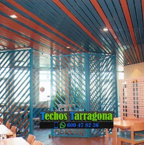 Presupuestos de techos de aluminio en Tortosa Tarragona