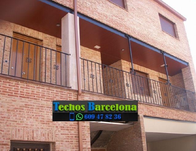 Presupuestos de techos de aluminio en Ullastrell Barcelona