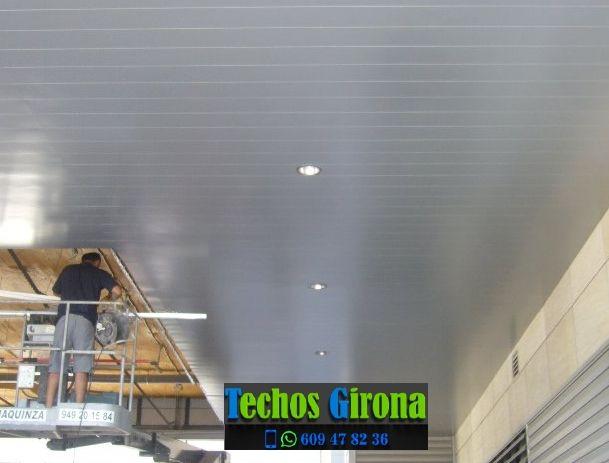 Presupuestos de techos de aluminio en Ultramort Girona