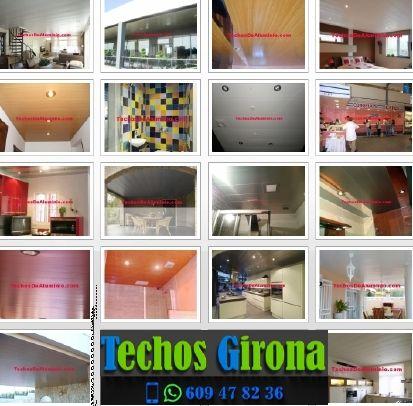 Presupuestos de techos de aluminio en Vall-llobrega Girona