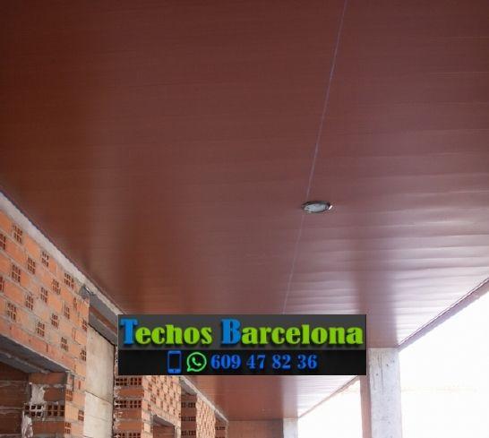 Presupuestos de techos de aluminio en Vallirana Barcelona