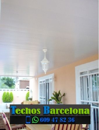 Presupuestos de techos de aluminio en Veciana Barcelona