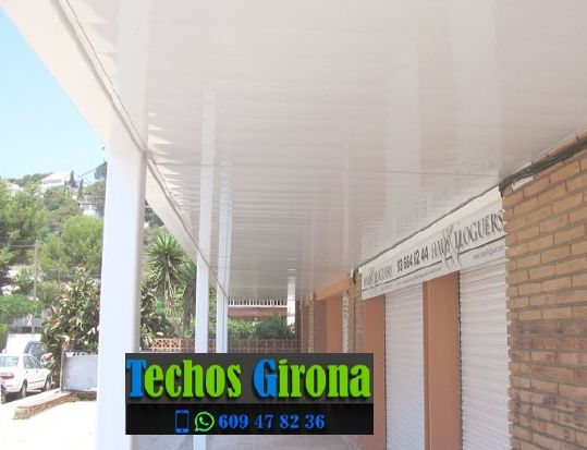 Presupuestos de techos de aluminio en Ventalló Girona