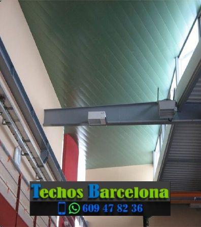 Presupuestos de techos de aluminio en Vilada Barcelona