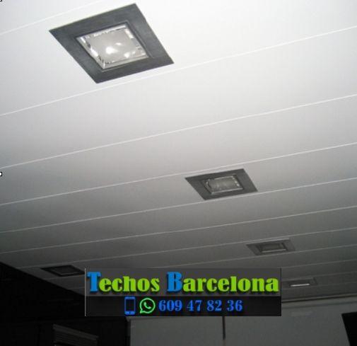 Presupuestos de techos de aluminio en Vilalba Sasserra Barcelona