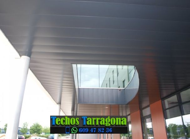 Presupuestos de techos de aluminio en Vilanova de Prades Tarragona