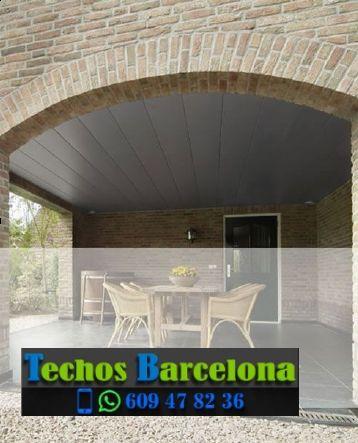Presupuestos de techos de aluminio en Vilanova i la Geltrú Barcelona