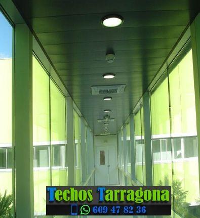 Presupuestos de techos de aluminio en Vilaplana Tarragona