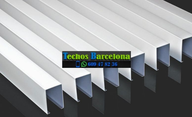 Presupuestos economicos techos desmontables Barcelona