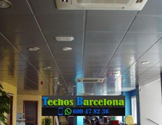 Presupuestos montadores techos metálicos Barcelona