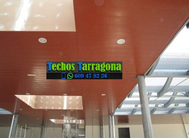 Techos de aluminio en Albinyana Tarragona