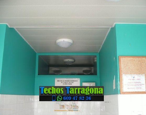 Techos de aluminio en Alcover Tarragona