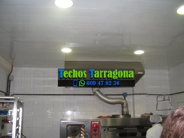 Techos de aluminio en Alforja Tarragona