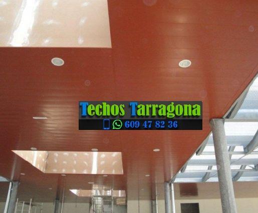 Techos de aluminio en Arnes Tarragona
