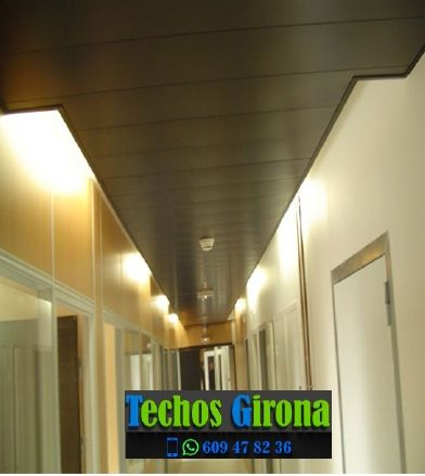 Techos de aluminio en Begur Girona