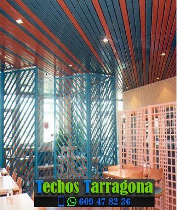 Techos de aluminio en Benissanet Tarragona