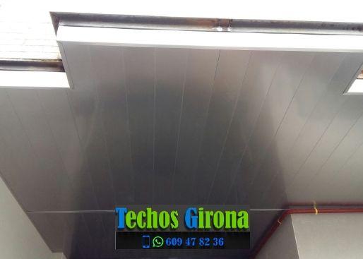 Techos de aluminio en Borrassà Girona