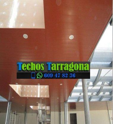 Techos de aluminio en Botarell Tarragona