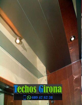 Techos de aluminio en Brunyola Girona
