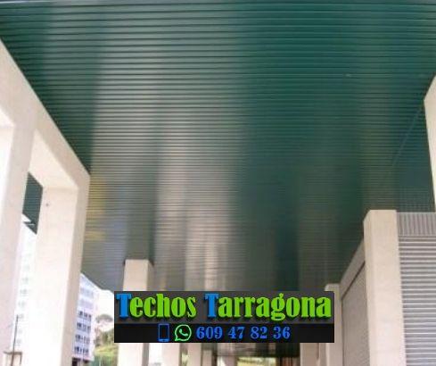 Techos de aluminio en Calafell Tarragona