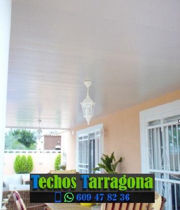 Techos de aluminio en Camarles Tarragona