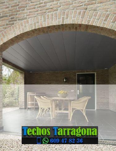 Techos de aluminio en Caseres Tarragona