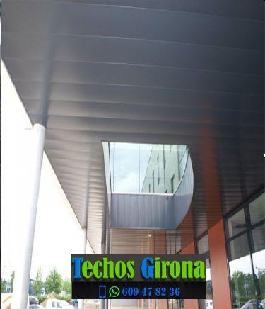Techos de aluminio en Colomers Girona