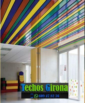 Techos de aluminio en Darnius Girona