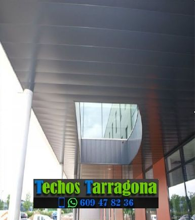 Techos de aluminio en Deltebre Tarragona