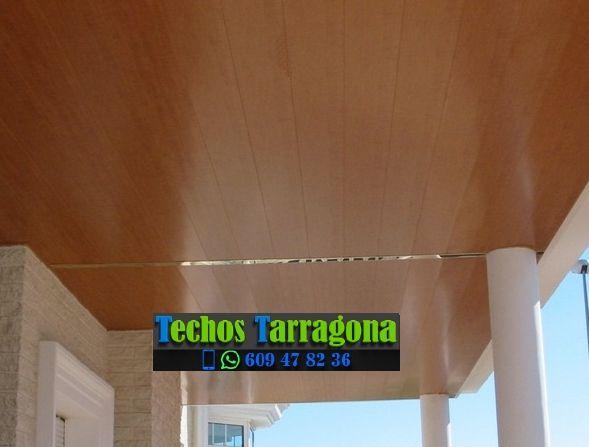 Techos de aluminio en El Pla de Santa Maria Tarragona