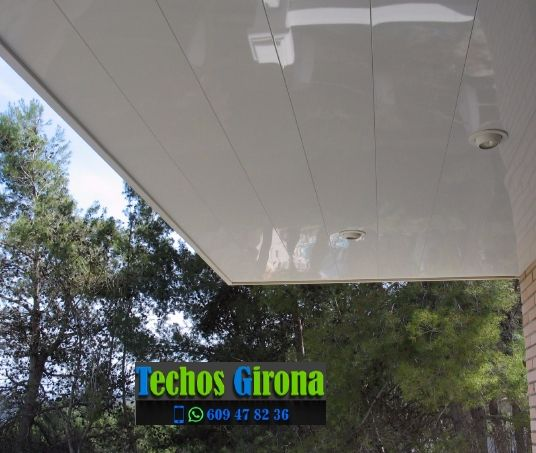 Techos de aluminio en Garriguella Girona
