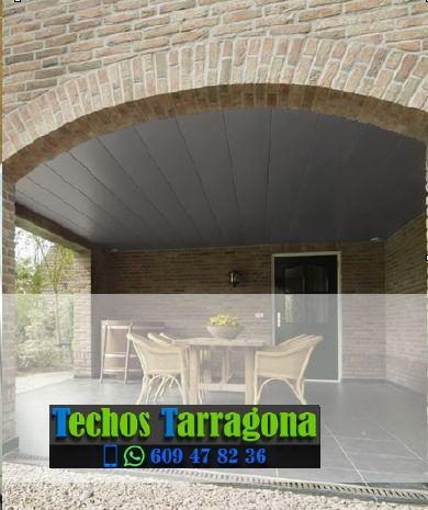 Techos de aluminio en Horta de Sant Joan Tarragona