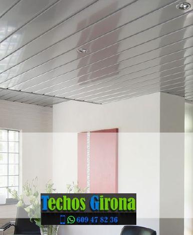 Techos de aluminio en Isòvol Girona