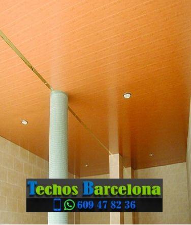 Techos de aluminio en La Barceloneta Barcelona