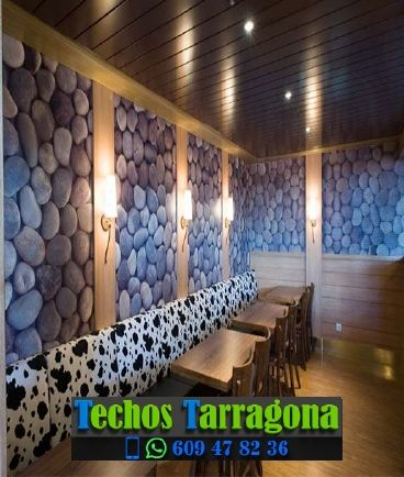 Techos de aluminio en La Bisbal de Falset Tarragona