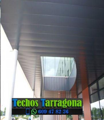 Techos de aluminio en La Fatarella Tarragona