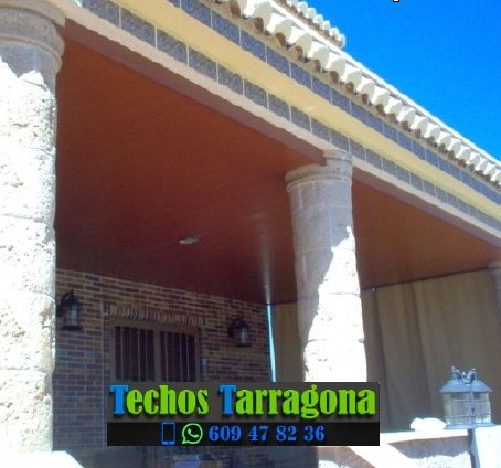 Techos de aluminio en La Pobla de Mafumet Tarragona