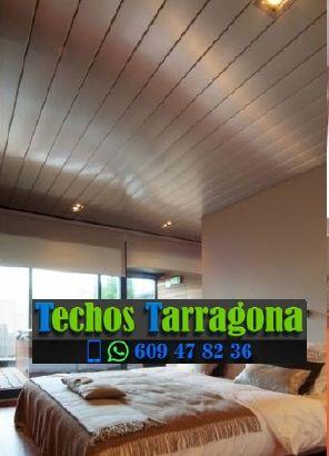 Techos de aluminio en La Pobla de Montornès Tarragona