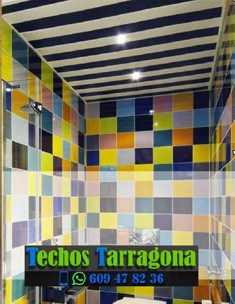 Techos de aluminio en La Vilella Baixa Tarragona