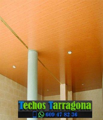 Techos de aluminio en Les Borges del Camp Tarragona