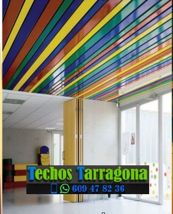 Techos de aluminio en Les Piles Tarragona