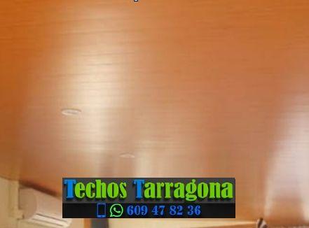 Techos de aluminio en Marçà Tarragona