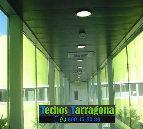 Techos de aluminio en Montferri Tarragona