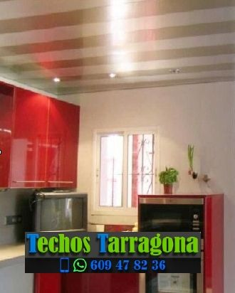 Techos de aluminio en Poboleda Tarragona