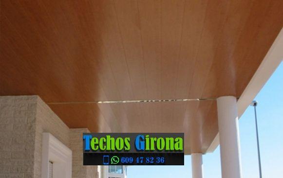 Techos de aluminio en Pontós Girona