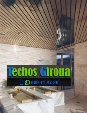 Techos de aluminio en Porqueres Girona