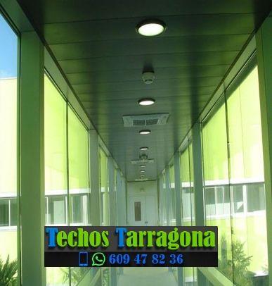 Techos de aluminio en Porrera Tarragona