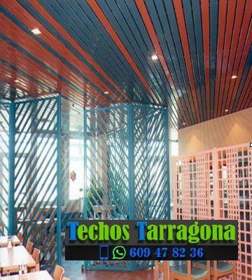 Techos de aluminio en Pradell de la Teixeta Tarragona